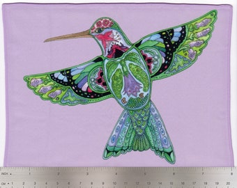 Hummingbird, Sue Coccia, Microfiber Cleaning Cloth Wipes for Eye Glasses, Cell Phones, Sunglasses, Electronics and More!