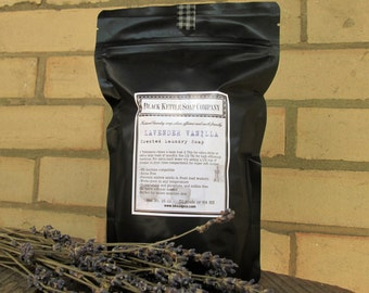 Laundry Soap LAVENDER VANILLA Shipping Included ... Black Kettle