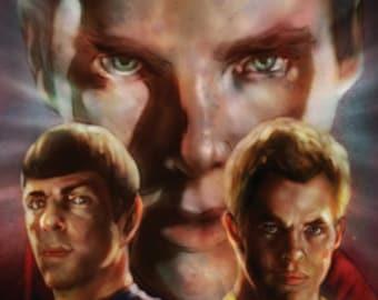Star Trek Into Darkness Print 11x17