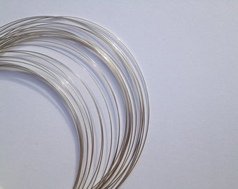 999 Fine Silver Wire, 14ga,  Round, Dead Soft,  Wholesale