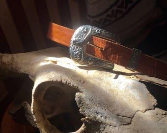 Vintage southwestern belt