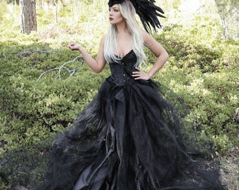 Headdress/MADE TO ORDER/Feather Mohawk/ Warrior Headdress/ Burning Man/Maleficent/ Horned Headdress/ Tribal Headdress/ Feather Headdress