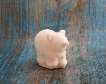 medium sized Teddy bear plaster blank