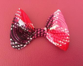 Pink Plaid Bow