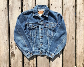 Levi's Sz S Red Tab Vintage Jean Jacket