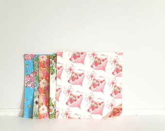 Vintage Wrapping Paper - Flowers