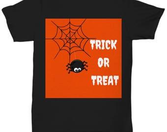 Trick or Treat Tshirt  -  Halloween Tshirt  - Halloween Tshirt for Women