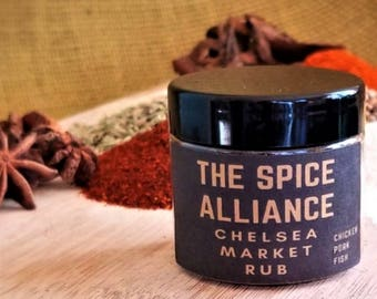 Chelsea Market Rub - 2 Ounce Jar