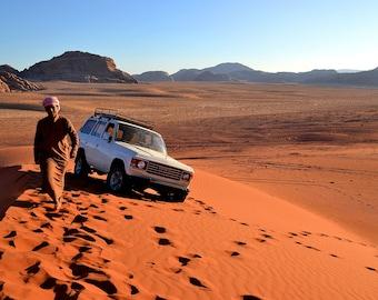 Jordan: The red desert