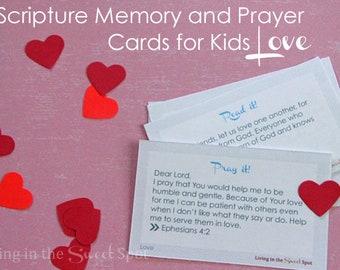 Love - Read It Pray It Cards