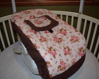 New Ballerina Bears Infant Carrier Cover