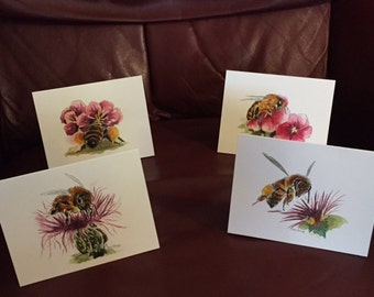 Honey Bee Note Cards