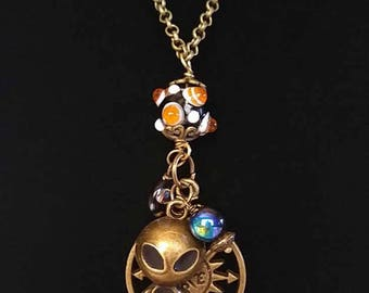 Bronze Necklace of the Time Traveler