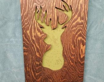 Country Deer, Wall hanging