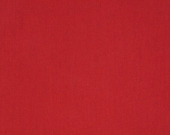 SHIPS SAME DAY Premier Prints Solid Lipstick Red Fabric, Solid Red Cotton Fabric by the 1/2 yard