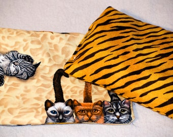 Kitty Cat Hot Cold Pack 8 inches x 6 inches