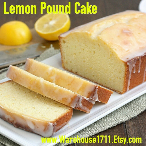 Lemon Pound Cake Candle Scent
