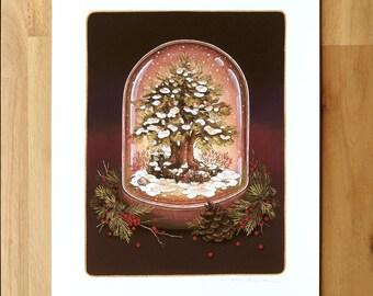 Beacon Snowglobe - Fine Art Print by Nicole Gustafsson