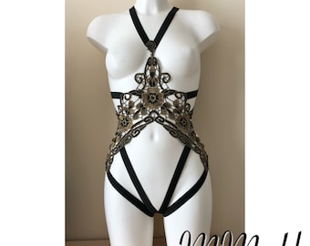 Regal body cage suit harness