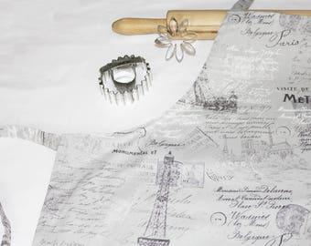 French Eiffel Tower Adult Apron