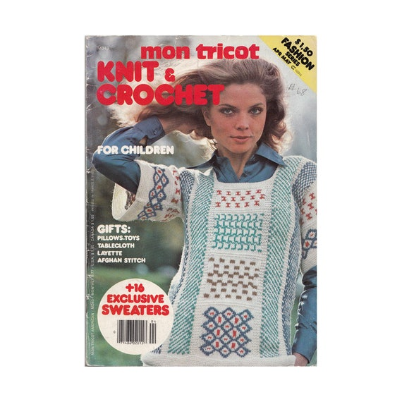 Knitting Patterns For The Family Mon Tricot Magazine Md43