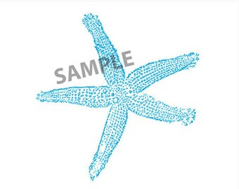 Starfish Logo (Instant Download)