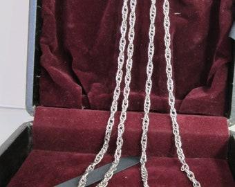 MONET NECKLACE // Monet Necklace Vintage // Monet Chain Necklace // Monet Chain Necklace Vintage // Chain Necklace Vintage // 56 Inch Chain