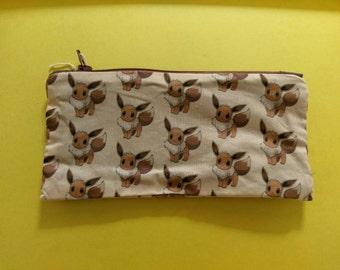 Pokemon Eeveelution Eevee Zipper Pouch/Pencil Case