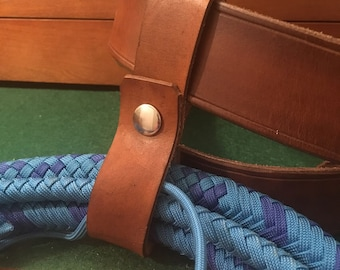 Whip Holder - Indy's Last Crusade Style - Light Brown
