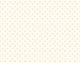 extra15 20% OFF Riley Blake Cream Small Dots on Cream