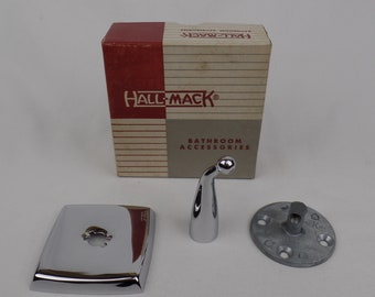 Vintage Hall Mack Chrome Wall Mount Towel Robe Hook 481 T Aristochrome
