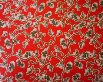 Great Flower Designs 50 x 145 cm, 80's by 80's Red hermes