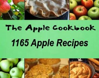 The Apple Cookbook:   1165 Apple Recipes Instant Download ebook PDF File