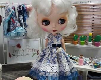 Blue Flowers dress