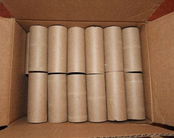 36 Empty Toilet Paper Rolls Clean Low Cost Craft Supply