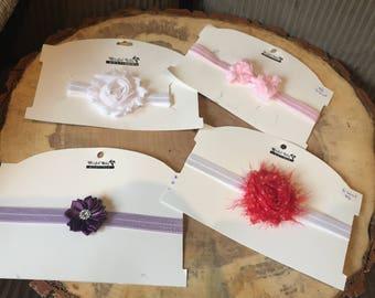 0 - 6 months +, Elastic headband, baby headband, infant headband, simple cute headband, baby girl, Fancy Headband, baby girl outfit, ribbon