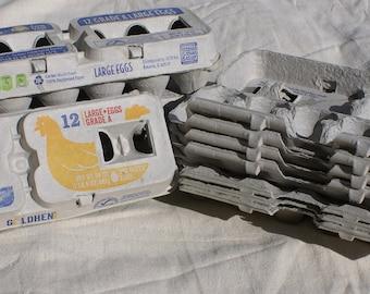 10 Egg Cartons- Cardboard Egg Cartons- Classroom Craft Supplies- Kids Crafts - Art Supplies