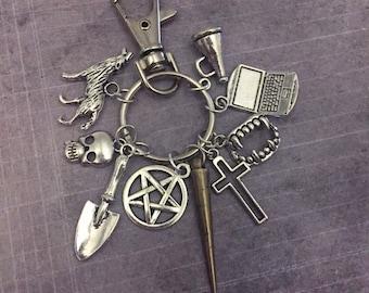 Vampire Slayer Fandom Keychain/Bagclip