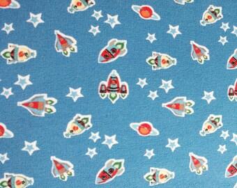 "12.00 Euro per metre-jersey fabric ""universe"" children"