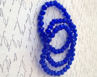 Blue Stretch Bracelet Set