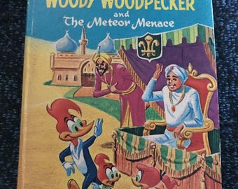 Woody Woodpecker Big Little Book Childrens Book