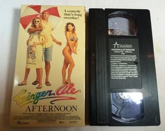 GINGER ALE AFTERNOON- Dana Andersen John M. Jackson Vhs R 1989 88 Mins