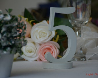 Wedding Table Decor, Wedding Table Number, Wooden Table Numbers, Freestanding Table Numbers