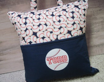 BASEBALL Sport Pocket Pillow - Book Pillow - Super Fun Gift!