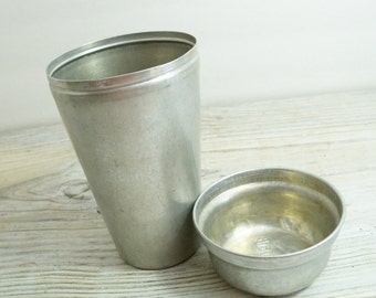 Vintage Cocomalt Tin Mixer or Shaker With Lid 1940s