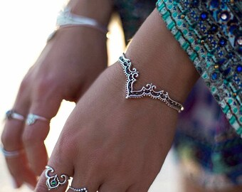 Silver Indian Mood bracelet
