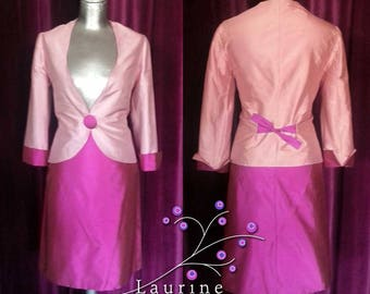 Candy silk suit