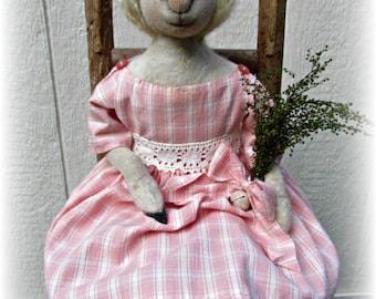 Little Bo Peep, Sheep, A Primitive, Folk Art, E PATTERN