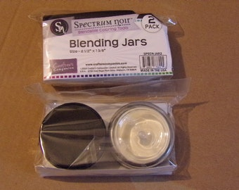 SPECTRuM NOiR - BLENDING JARS - Rare  !!  SPECIALLY  PRicED !!