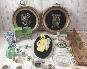 Vintage Assortment of Collectibles